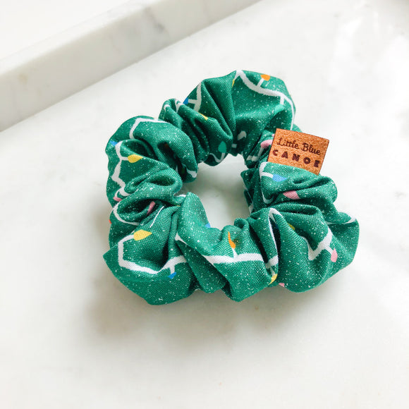 Holiday Lights Scrunchie