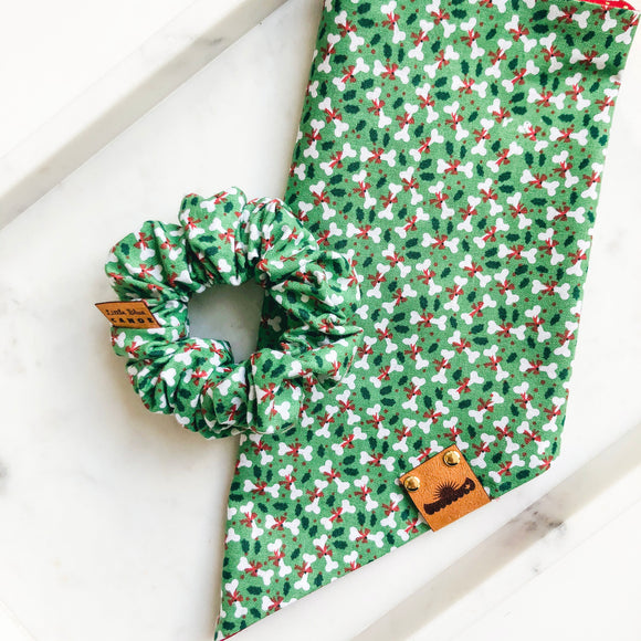 Holiday Bones Bandana Bestie Set