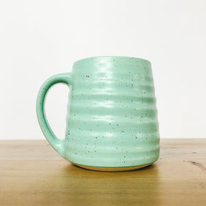Speckled Light Teal Mug