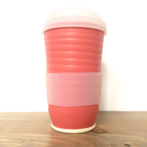 Flamingo Pink Travel Mug