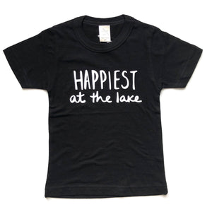 Happiest at the Lake - Toddler/Youth Tee