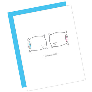 Pillow Talk Card