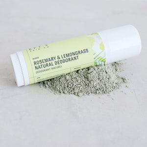 Rosemary + Lemongrass Natural Deodorant