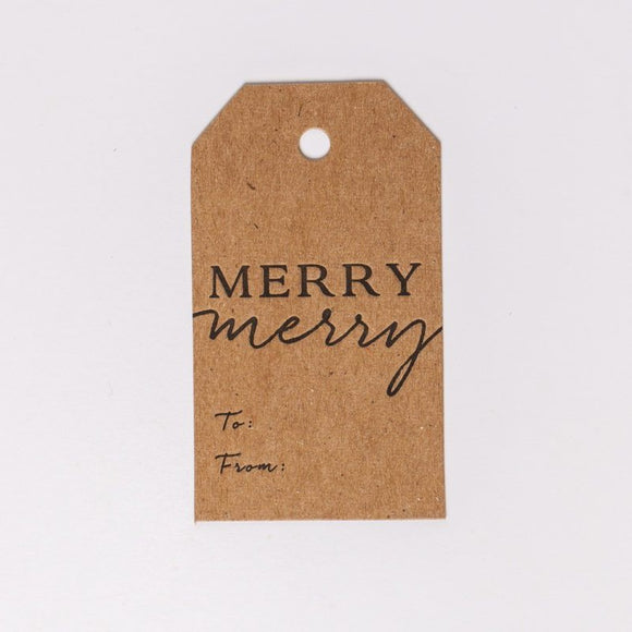 Merry Merry Gift Tags