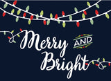 Merry + Bright Card