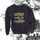 Happiest Under The Mistletoe - Gold