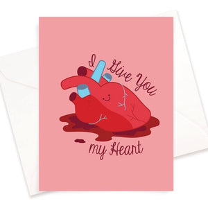 I Give You My Heart Card