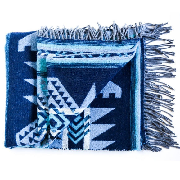 'Nahanni' Recycled Wool Blanket