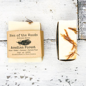 Acadian Forest Natural Soap