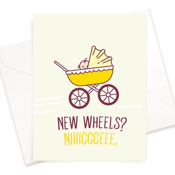 New Wheels Card