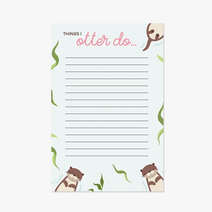Thing I Otter Do Magnetic Notepad