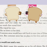 PB + J Mini Magnetic Bookmarks