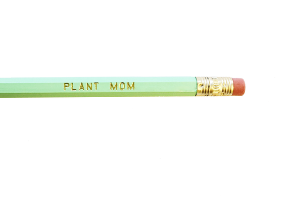 Plant Mom Single Pencil
