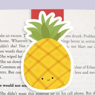 Pineapple Magnetic Bookmark