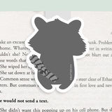 Raccoon Magnetic Bookmark