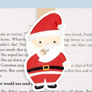Santa Magnetic Bookmark