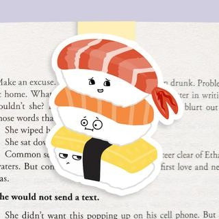 Sushi Magnetic Bookmark