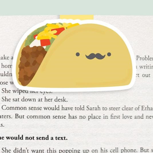 Taco Magnetic Bookmark