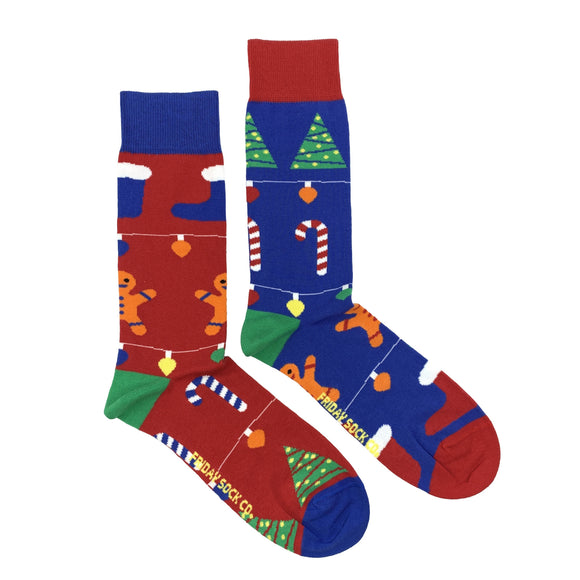 Gingerbread Ugly Christmas Socks