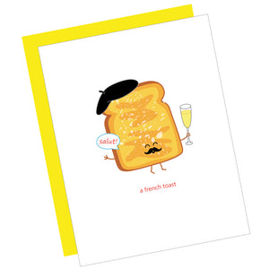 A French Toast Card