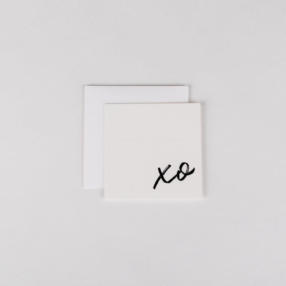 XO Mini Note Card