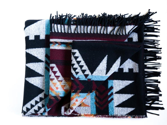 'Yukon' Recycled Wool Blanket