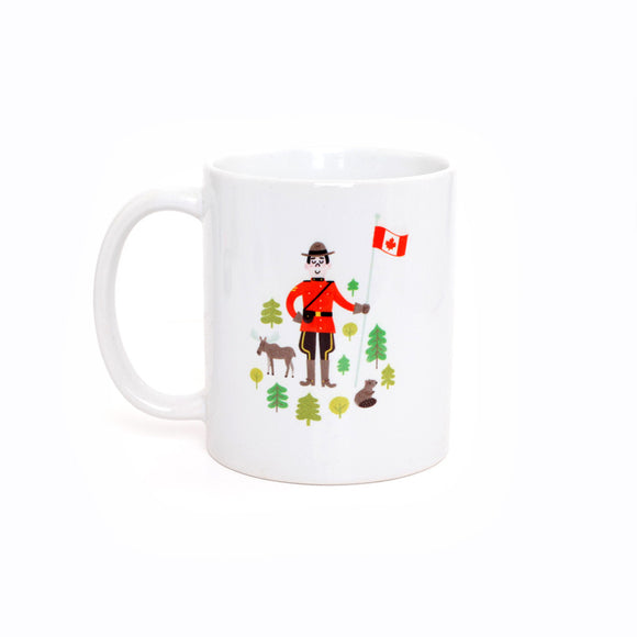 Canadian Mountie Mug