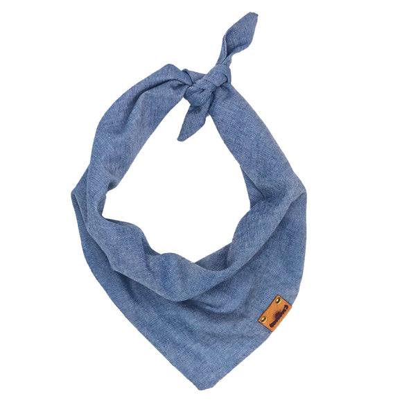 Dark Chambray Bandana