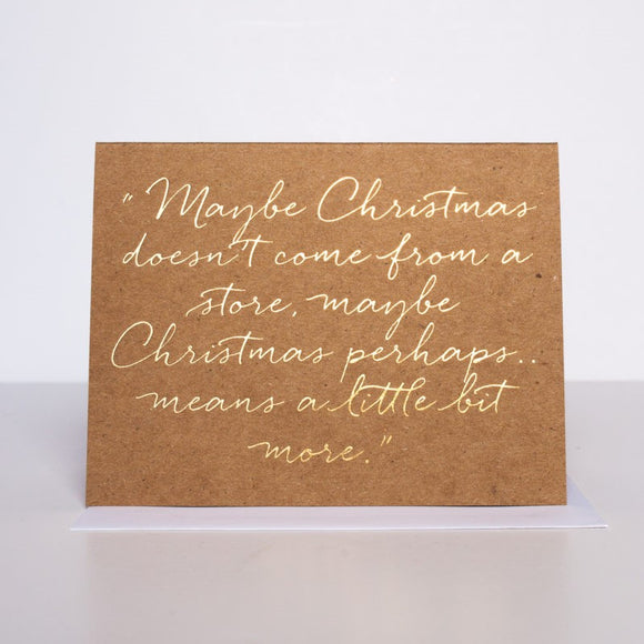 The Grinch Quote Card
