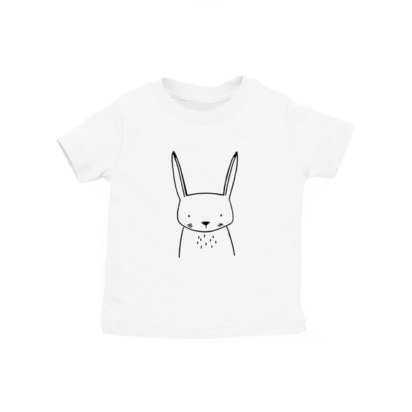 Hazel the Hare White Kid's Tee
