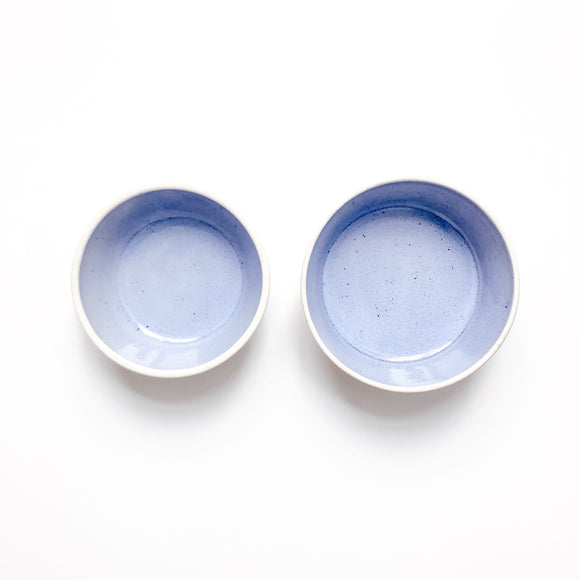 Pet Food + Water Netsting Bowl Set