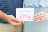 Congrats Lovebirds Card