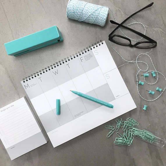 The Planning Essentials - Weekly Planner, Daily Planner, and Pen Set