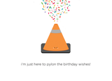 Pylon The Birthday Wishes Card