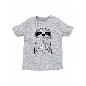 Seymour the Sloth Grey Kid's Tee