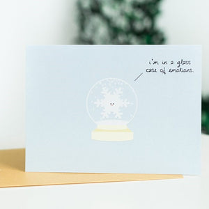 Snowglobe: Glass Case of Emotions Card