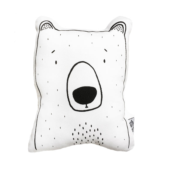 Bob the Grizzly Bear Soft Toy Pillow