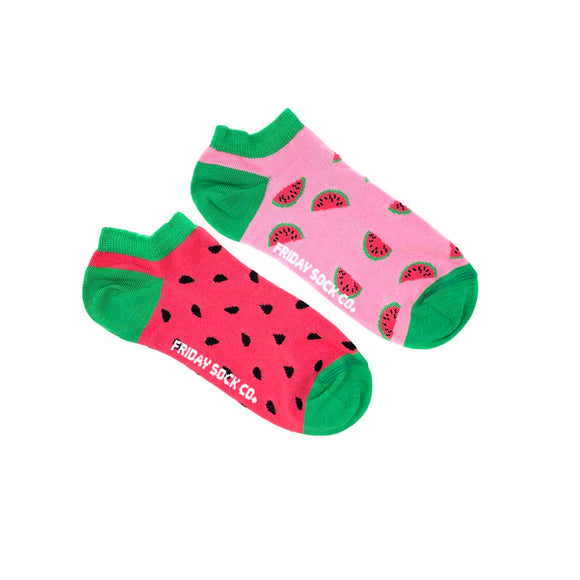 Watermelon + Seeds (Women's Ankle)