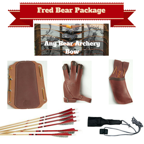 Fred Bear® Archery Bow Accessory Package