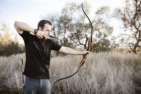 "62"" TIGERSHARK TAKEDOWN RECURVE BOW"