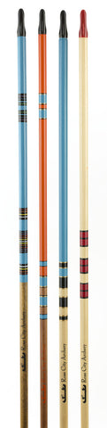 RCA Lacquered, Crested & Nocked Arrows