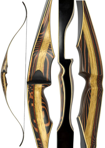 "60"" TIGERSHARK ONE PIECE RECURVE BOW"