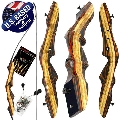 "62"" TIGERSHARK PRO TAKEDOWN RECURVE BOW"