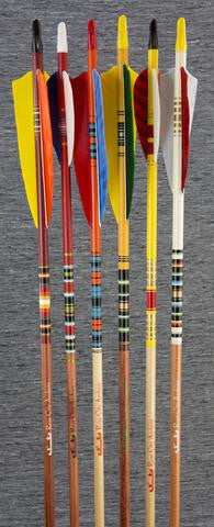 FANCY CARBON ARROWS