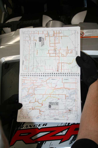 Michigan ORV Map Book