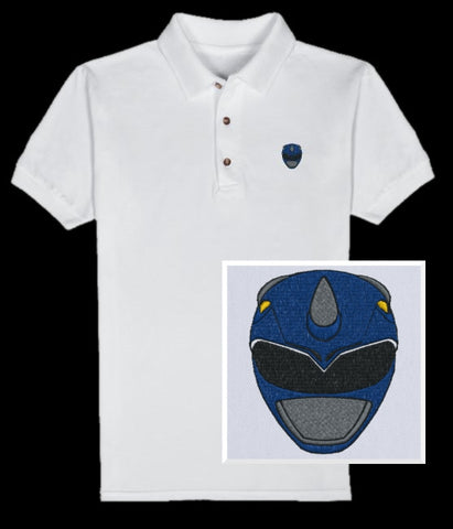 Tricera Helmet Polo (you choose shirt color)
