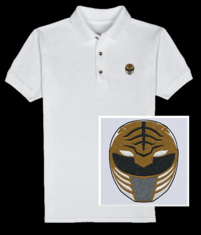 Tiger Helmet Polo (you choose shirt color)