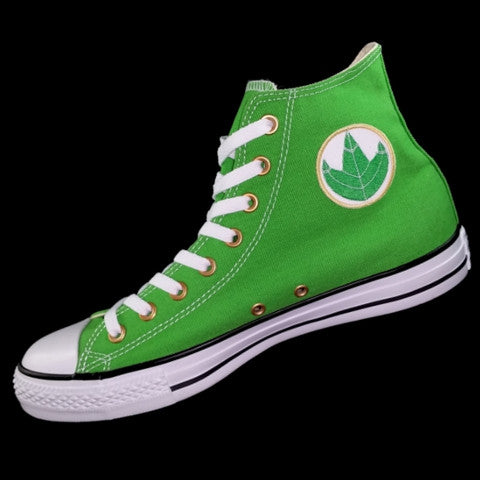 Dragon Green Custom Converse All Star - Armored Edition