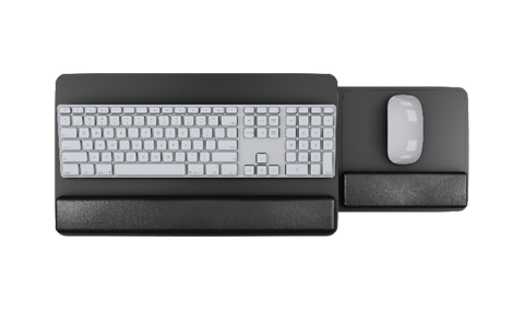 Slide-Out Mouse Keyboard Platform