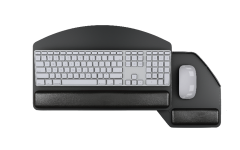 Swivel Mouse Below Keyboard Platform
